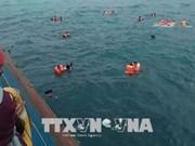 印尼渡轮倾覆至少12人死亡