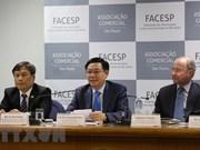 王廷惠出席越南巴西企业家论坛   促进越巴两国贸易投资合作