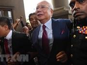 马来西亚前总理纳吉布今日出庭受审