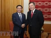 越南政府副总理王廷惠对智利共和国进行正式访问