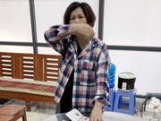 广宁省破获一起非法运输货币案