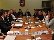 越南妇女代表团访问阿根廷