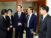 国家主席陈大光与越南律师协会举行工作会谈