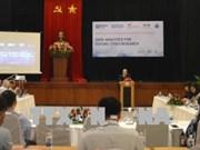 未来城市研究的数据分析研讨会在岘港举行