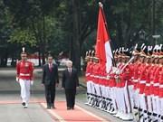 越南与印度尼西亚深化两国战略伙伴关系
