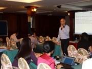 胡志明市加强绿化职业技术教育和培训工作力度