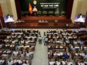 第九届胡志明市人民议会第九次会议通过21项决议