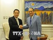 多米尼加领导均表示希望发展对越南关系