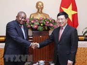 范平明会见莫桑比克新任驻越大使