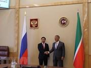 越俄两国深化地方之间的合作关系