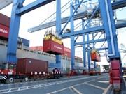 越南港口集装箱货物吞吐量猛增