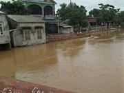 富寿省和山罗省调动一切力量开展暴雨洪水抢险救灾工作