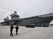 英国将派遣航母支援在东海巡逻的澳大利亚舰艇