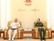 越南与印度两国海军加强合作