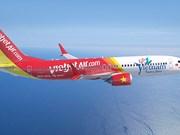 越捷将在年内开通飞往日本、 澳大利亚和印度的航线