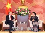越南国会主席阮氏金银会见欧洲议会贸易委员会主席