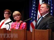 美国和澳大利亚再次重申维护东海航行自由的重要性