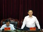 政府副总理王廷惠赴奠边省调研