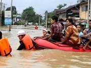 缅甸遭严重洪灾  泰国泥石流造成8人死亡