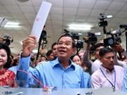 越南领导人就柬埔寨成功举办第六届国会选举向柬埔寨首相洪森致贺电