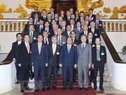 越南政府总理阮春福会见日本经济团体联合会代表团