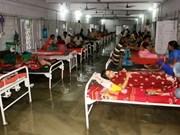 越南领导人就印度发生严重洪灾向该国领导人致慰问电