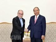 阮春福:越阿应加强合作 充分挖掘贸易投资的合作潜力