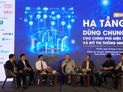 """""""电子政务及智慧城市共用设施""""研讨会在芹苴市举行"""