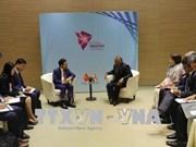 第51届东盟外长会议:越南政府副总理兼外长范平明会见印度、文莱和菲律宾外长