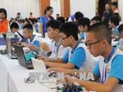 近150名优秀学生参加2018年越南机器人大赛