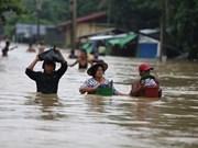 缅甸洪灾已造成12人死亡 近15万灾民被迫疏散