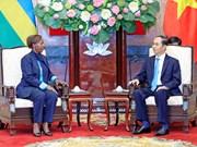 越南扩大与卢旺达和内亚的多领域合作关系
