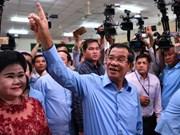 柬埔寨公布2018年第六届大选投票初步统计结果