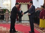 印度尼西亚总统:希望同越南领导人深入讨论共同关注的双边和多边问题