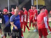 ASIAD 2018:主教练朴恒绪透露越南球队的首发阵容