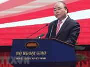 阮春福总理:外交工作应以企业为核心