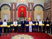 """国家主席陈大光:发挥""""海警与渔民同行""""模式的效果"""
