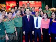 越南公安力量高度重视全国保卫祖国安全运动中先进典型的学习宣传工作