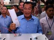 柬埔寨执政党人民党获得国会全部125个议席