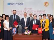 越南与英国进一步加强教育合作关系