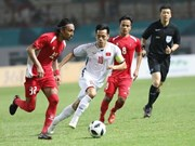 ASIAD 2018:日媒高度评价越南国家奥林匹克足球队的水平