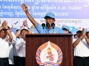 洪森再任柬埔寨政府首相