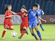 ASIAD 2018:越南女子足球队以3比2击败泰国队 赢得四分之一决赛席位