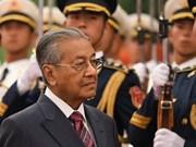 马来西亚总理马哈蒂尔访华欲促进中马关系发展