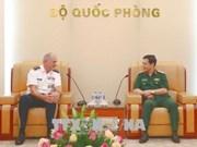 国防部副部长潘文江会见美国陆军太平洋司令部司令