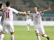 ASIAD 2018:越南男足创下历史最佳成绩
