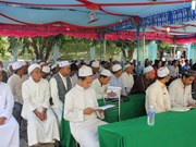 祖国阵线中央委员会主席值此伊斯兰教古尔邦节向越南穆斯林致贺信