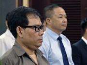 """涉嫌""""颠覆国家政权罪""""的""""临时越南国家政府""""反动组织成员出庭受审"""