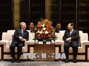 越南共产党代表团访问中国陕西省