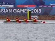 ASIAD 2018:女子赛艇队为越南体育代表团收获首枚金牌
